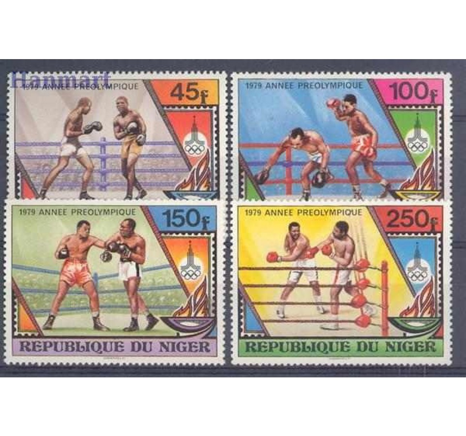 Niger 1979 Mi 673-676 Czyste **
