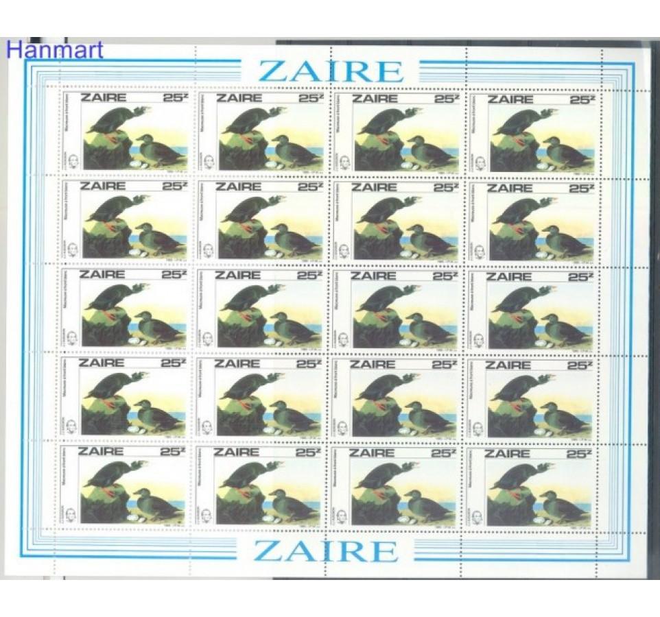 Kongo Kinszasa / Zair 1985 Mi ark 907 Czyste **