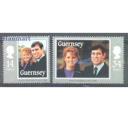 Znaczek Guernsey 1986 Mi 361-362 Czyste **