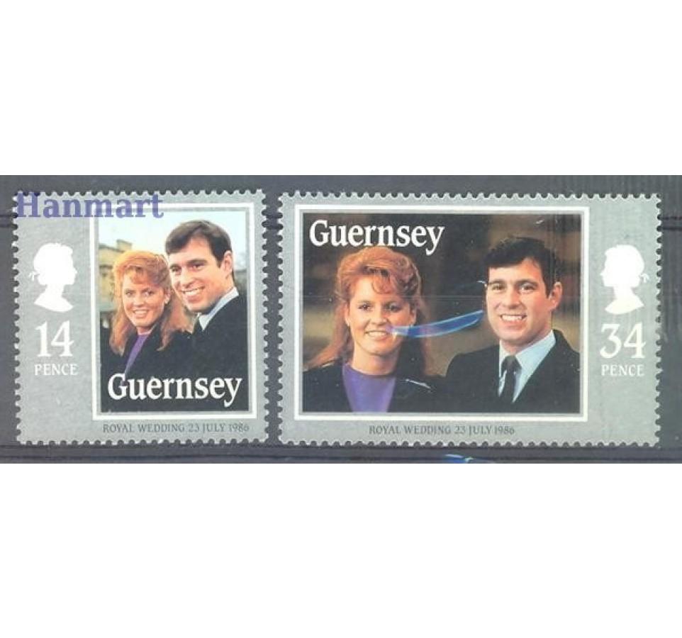 Guernsey 1986 Mi 361-362 Czyste **