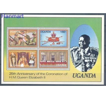 Uganda 1979 Mi bl 14 Czyste **