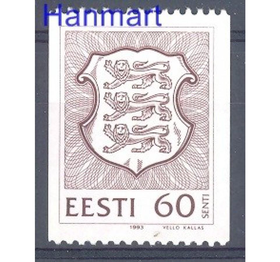 Estonia 1992 Mi 198 Czyste **