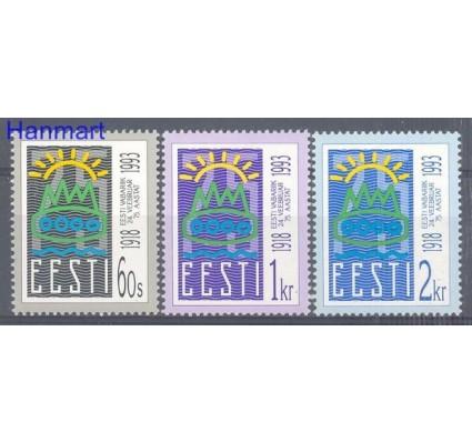 Estonia 1993 Mi 200-202 Czyste **