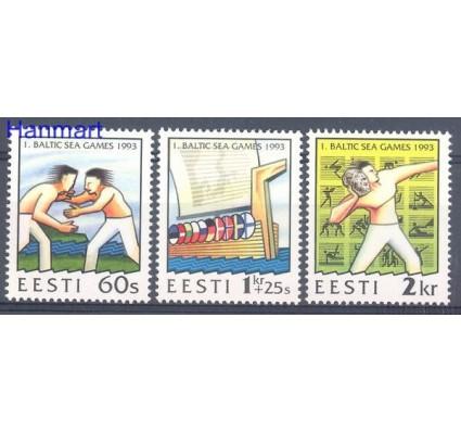 Znaczek Estonia 1993 Mi 207-209 Czyste **
