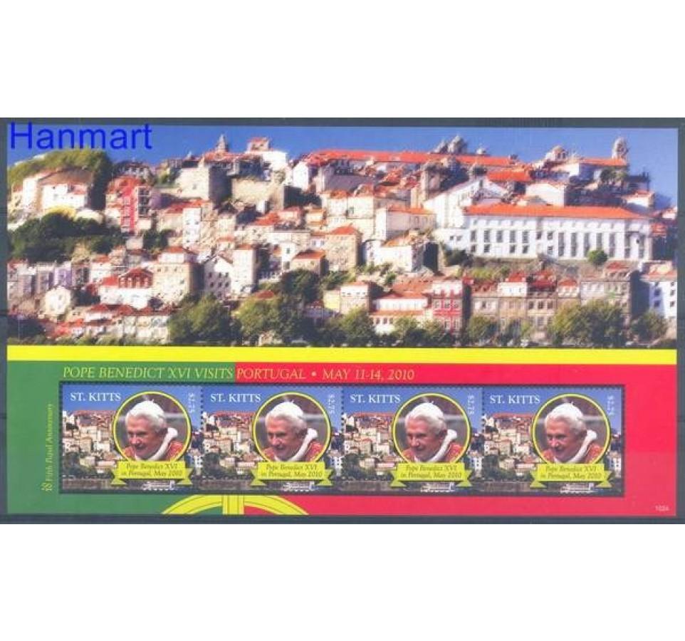 Saint Kitts 2010 Mi ark 1169 Czyste **