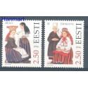 Estonia 1996 Mi 274-275 Czyste **