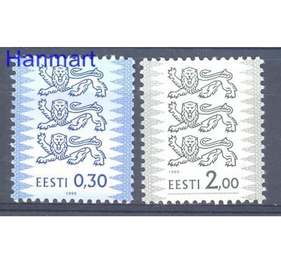 Estonia 1999 Mi 357-358IA Czyste **