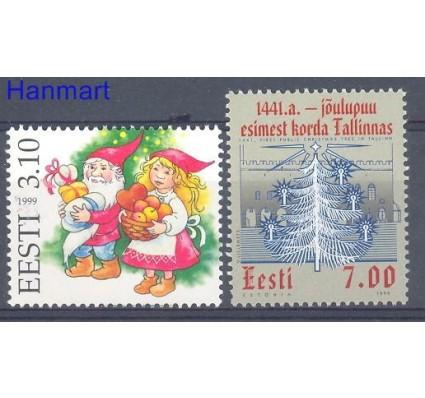 Znaczek Estonia 1999 Mi 359-360 Czyste **