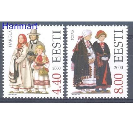 Estonia 2000 Mi 378-379 Czyste **