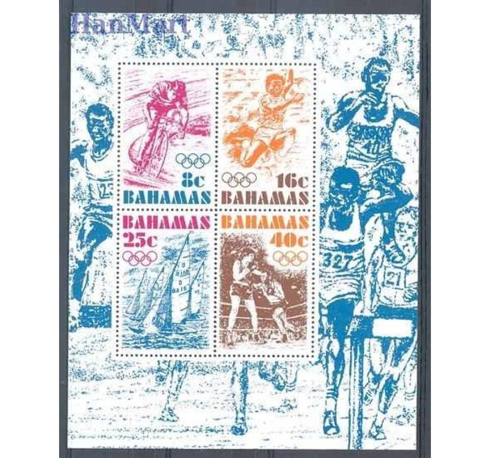 Bahamy 1976 Mi bl 17 Czyste **