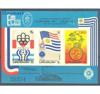 Znaczek Urugwaj 1975 Mi expbl 28 Czyste **