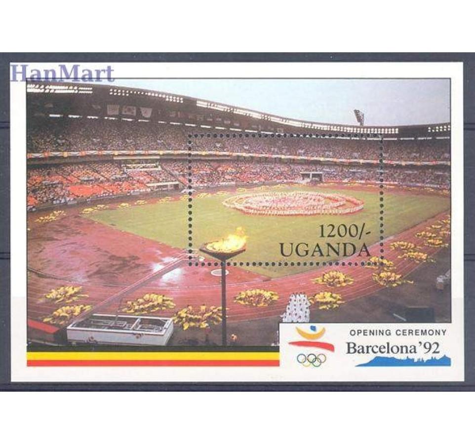 Uganda 1991 Mi bl 130 Czyste **