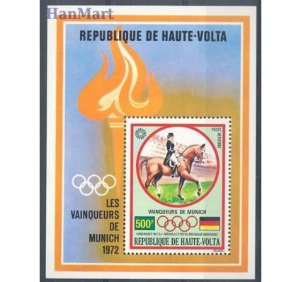 Burkina Faso 1972 Mi bl 8 Czyste **