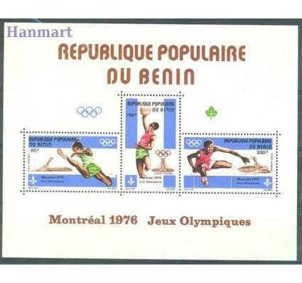 Benin 1976 Mi bl 1 Czyste **