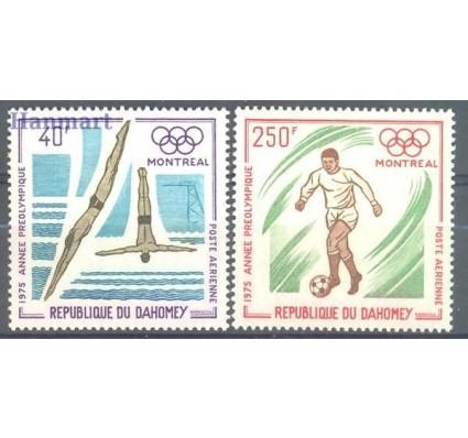 Dahomej 1975 Mi 640-641 Czyste **
