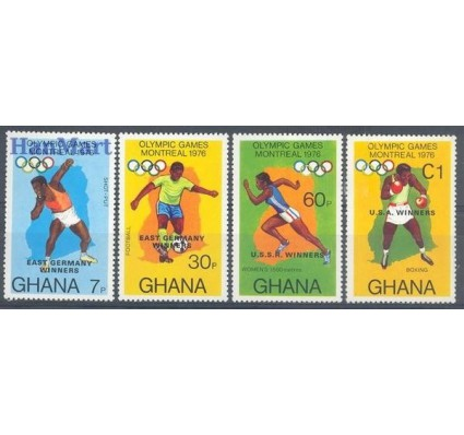 Ghana 1976 Mi 686-689 Czyste **