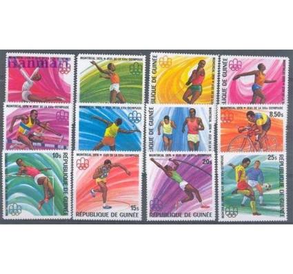 Gwinea 1976 Mi 740-751 Czyste **