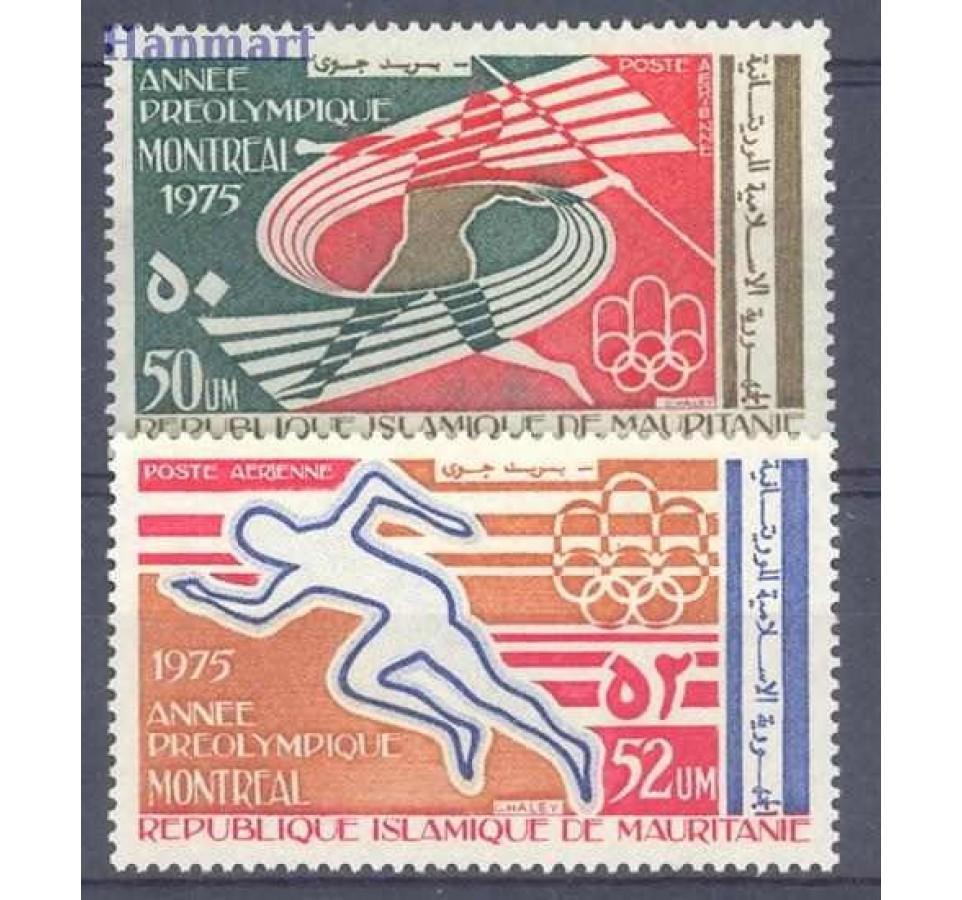 Mauretania 1975 Mi 518-519 Czyste **
