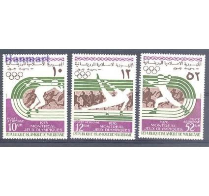 Znaczek Mauretania 1976 Mi 536-538 Czyste **