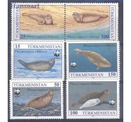 Znaczek Turkmenistan 1993 Mi 30-35 Czyste **