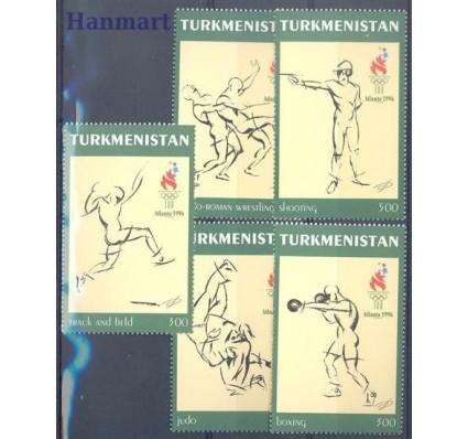 Znaczek Turkmenistan 1997 Mi 60-64 Czyste **
