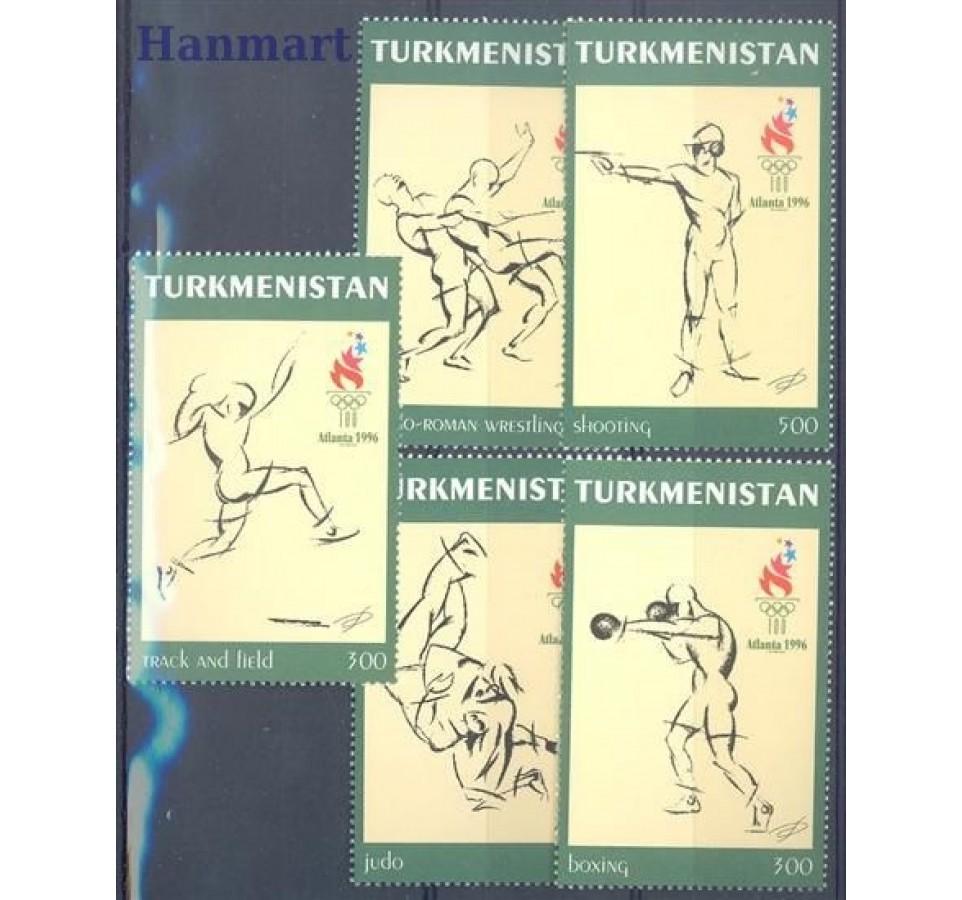 Turkmenistan 1997 Mi 60-64 Czyste **