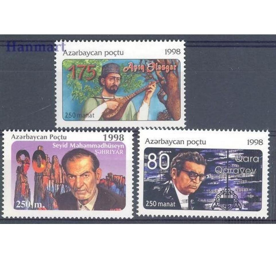 Azerbejdżan 1998 Mi 423-425 Czyste **