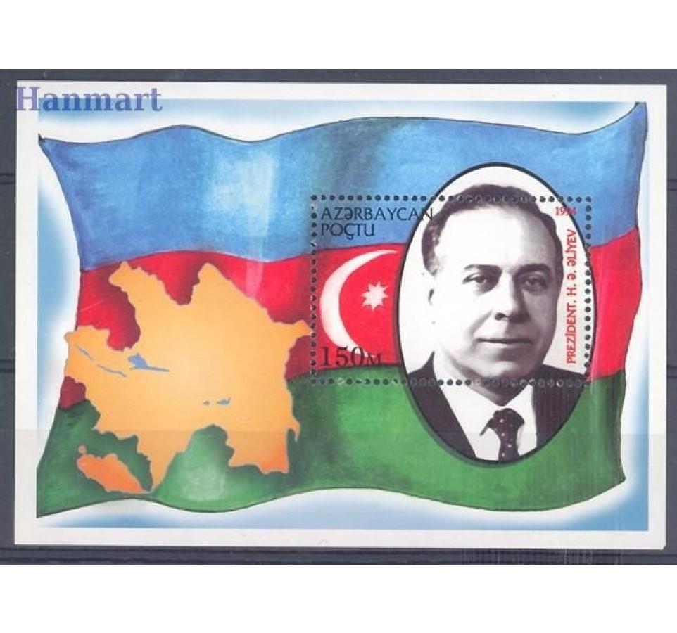 Azerbejdżan 1994 Mi bl 8 Czyste **