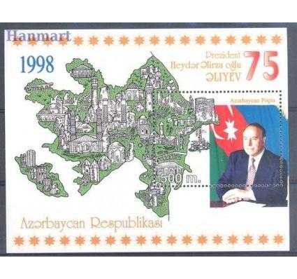 Znaczek Azerbejdżan 1998 Mi bl 35 Czyste **