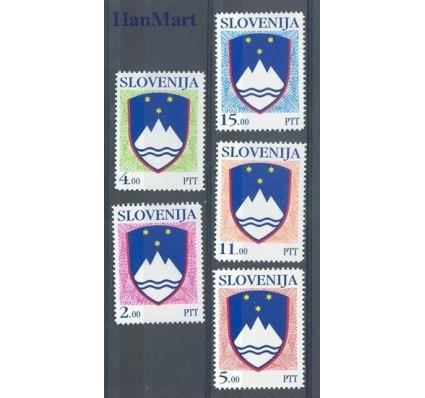 Znaczek Słowenia 1992 Mi 13-17 Czyste **