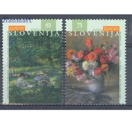 Znaczek Słowenia 1996 Mi 142-143 Czyste **