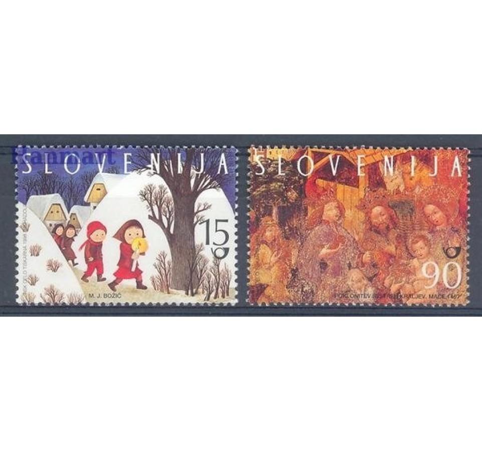 Słowenia 1998 Mi 240-241 Czyste **
