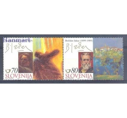 Znaczek Słowenia 1999 Mi 272-273 Czyste **