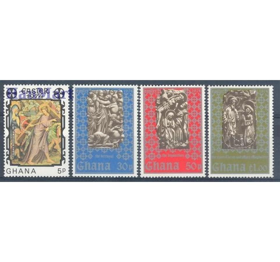 Ghana 1974 Mi 540-543 Czyste **