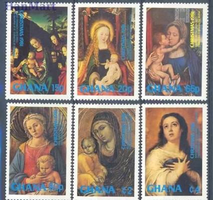 Ghana 1981 Mi 909-914 Czyste **