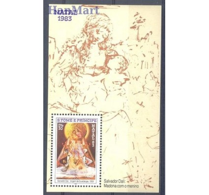 Wyspy Św. Tomasza i Książęca 1983 Mi bl 135 Czyste **