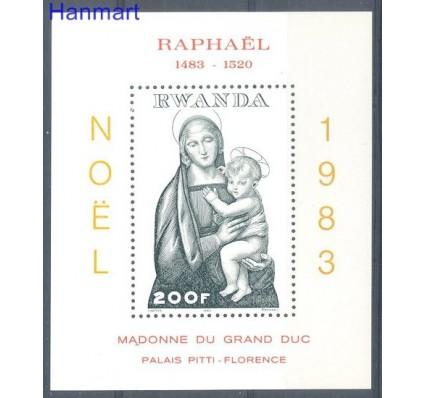 Znaczek Rwanda 1983 Mi bl 101 Czyste **
