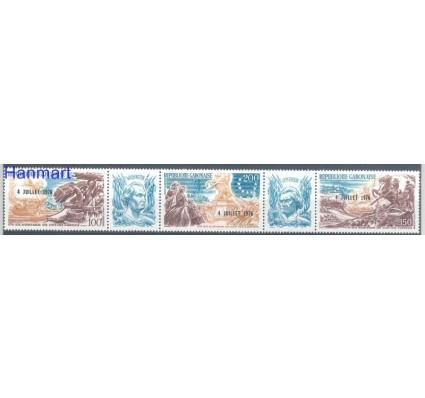 Znaczek Gabon 1976 Mi 594-596 Czyste **