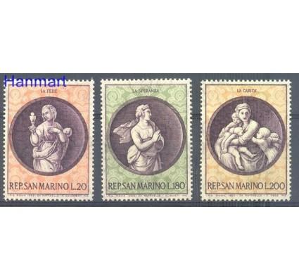 Znaczek San Marino 1969 Mi 939-941 Czyste **
