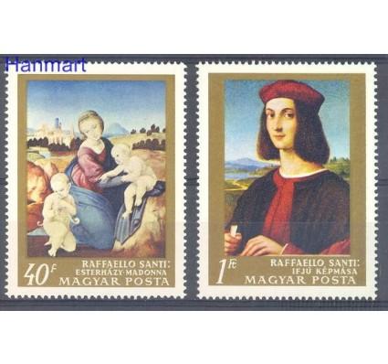 Węgry 1968 Mi 2465+2467 Czyste **