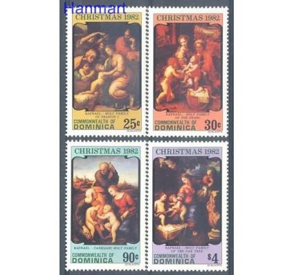 Znaczek Dominika 1982 Mi 800-803 Czyste **