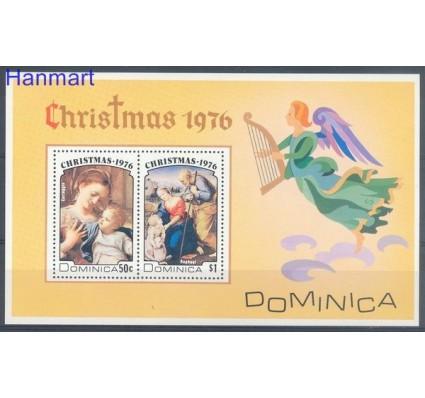 Znaczek Dominika 1976 Mi bl 39 Czyste **
