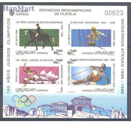 Znaczek Urugwaj 1996 Mi gedbl 70 Czyste **