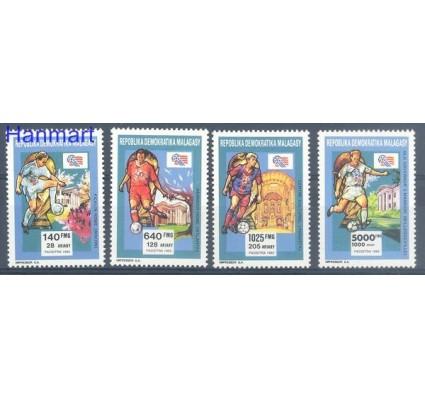 Znaczek Madagaskar 1992 Mi 1399-1402 Czyste **