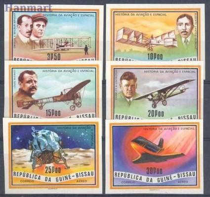 Znaczek Gwinea Bissau 1978 Mi 493-498B Czyste **