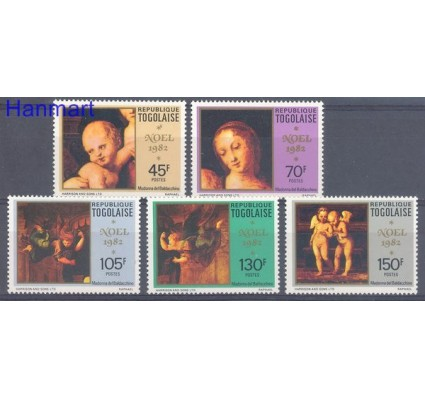 Znaczek Togo 1982 Mi 1623-1627 Czyste **