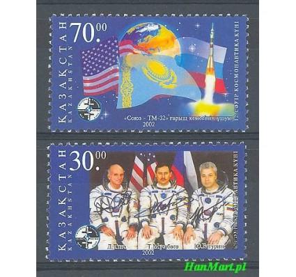 Znaczek Kazachstan 2002 Mi 370-371 Czyste **