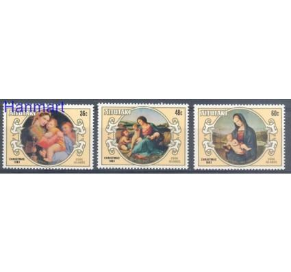 Znaczek Aitutaki 1983 Mi 499-501 Czyste **
