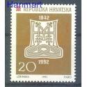 Chorwacja 1992 Mi 201 Czyste **