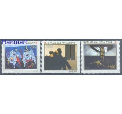 Chorwacja 1993 Mi 240-242 Czyste **